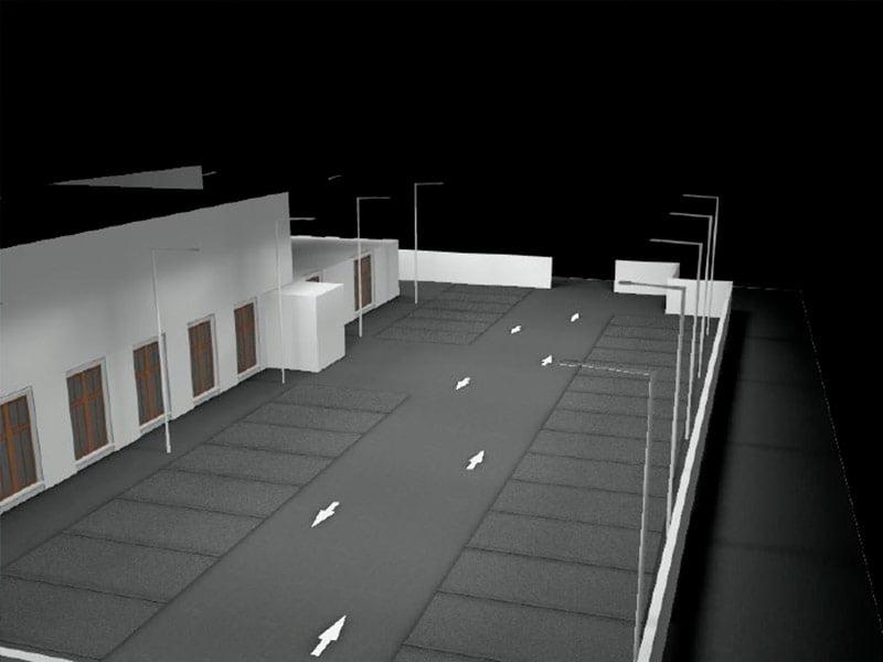 Diseño para el proyecto de ingeniería completa de centro de salud