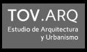 Logo Tovar arquitectos fondo gris