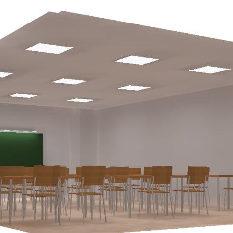 Instalación de red eléctrica de baja tensión para centro de enseñanza
