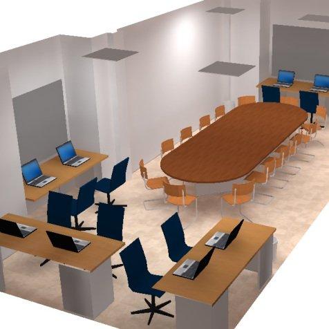 Proyecto de ingeniería para la instalación de red eléctrica sala de reunión