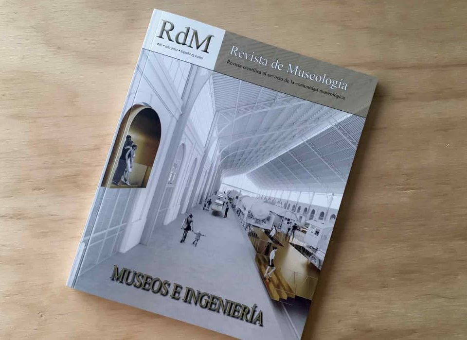 Formamos parte de la Revista de Museología, de la mano del proyecto de instalaciones de la sala Isaac Peral, del Museo Naval de Cartagena.